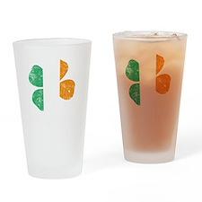 Irish Lucky - dk Drinking Glass