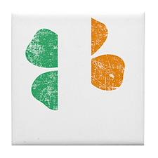 Irish Lucky - dk Tile Coaster