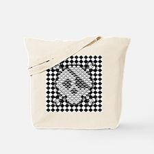 tiled-sk-CRD Tote Bag