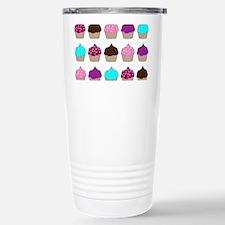 CupcakeLoveMultiRectangle2 Travel Mug