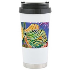 Tile Trigger fish Travel Coffee Mug