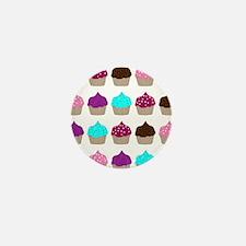 CupcakeLoveMultiSquare Mini Button