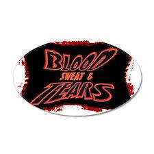 blood sweat  tears Wall Sticker