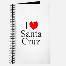"""""""I Love Santa Cruz"""" Journal"""