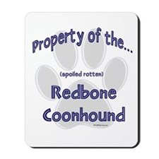 Coonhound Property Mousepad