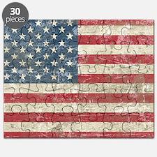 vintageAmerica4Long2laptop1 Puzzle