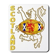 Scottish Saltire and Lion Rugby Mousepad