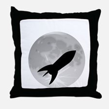 Fly me to the moon 1 Throw Pillow