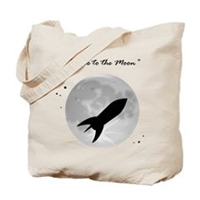 Fly me to the moon 2 Tote Bag