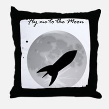 Fly me to the moon 2 Throw Pillow