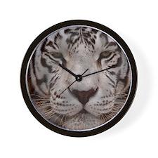 (2) White Tiger 4 Wall Clock