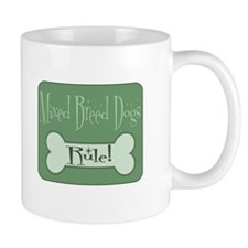 Mixed Breed Dog Small Mug