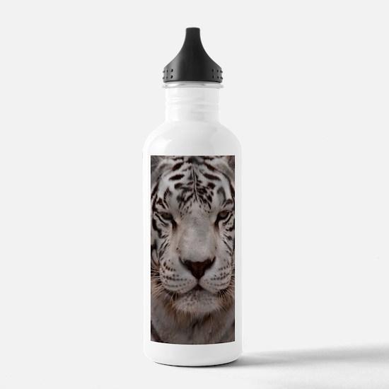 (3) White Tiger 4 Water Bottle