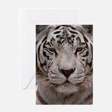 (3) White Tiger 4 Greeting Card