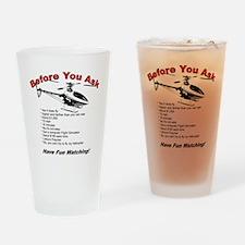 beforeyouask Drinking Glass