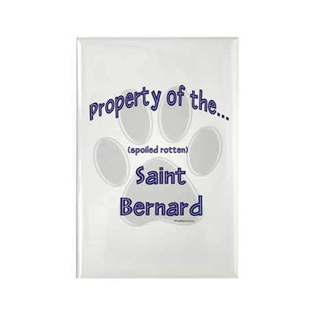 Saint Property Rectangle Magnet