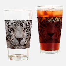 (4) White Tiger 4 Drinking Glass