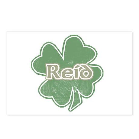 """""""Shamrock - Reid"""" Postcards (Package of 8)"""