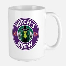 Witchs brew purple Large Mug