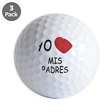 MIS_PADRES Golf Ball