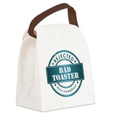 badge_3x3 Canvas Lunch Bag
