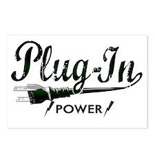 Plug In Power copy Postcards (Package of 8)