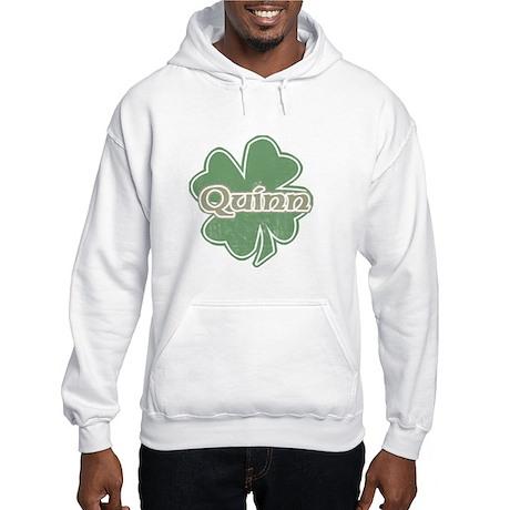 """Shamrock - Quinn"" Hooded Sweatshirt"
