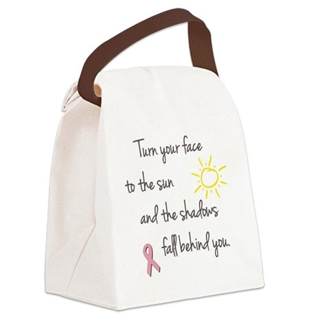 Turn Your Face to the Sun Canvas Lunch Bag