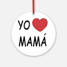 mama Round Ornament