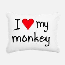 iheartmonkey Rectangular Canvas Pillow