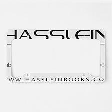 Hasslein Logo(k) (2line_info) License Plate Holder