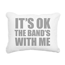 okBandMeC Rectangular Canvas Pillow