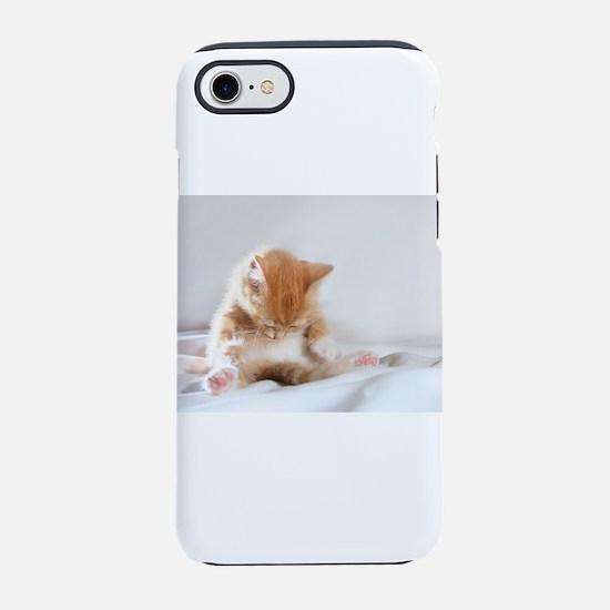 Sleepy Kitty iPhone 7 Tough Case