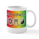 Coexist Small Mugs (11 oz)