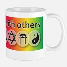 prays-well-with-others-10-x-10 Small Small Mug