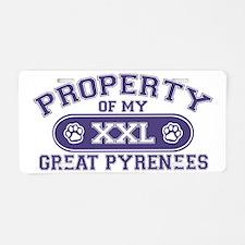 greatpyrproperty Aluminum License Plate
