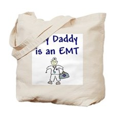 My daddy is a paramedic Tote Bag