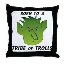 trolltribe1 Throw Pillow