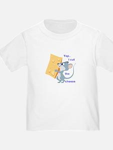 Cut The Cheese Short Sleeve T-Shirt