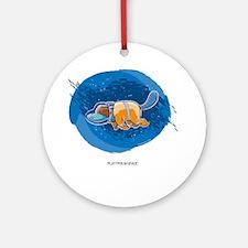 platypus Round Ornament
