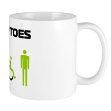 Watch Your Toes Mug