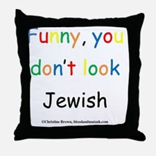 Funny1 Throw Pillow