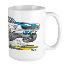 Creekrat_CARtoons_Shelby_Mustang_Mug co Mug