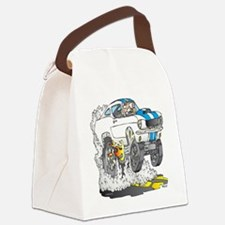 Creekrat_CARtoons_Shelby_Mustang_ Canvas Lunch Bag