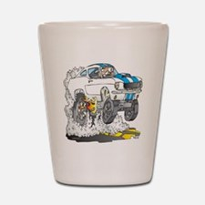 Creekrat_CARtoons_Shelby_Mustang_Tee co Shot Glass