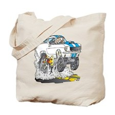 Creekrat_CARtoons_Shelby_Mustang_Tee copy Tote Bag