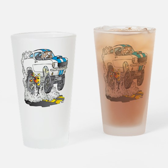 Creekrat_CARtoons_Shelby_Mustang_Te Drinking Glass