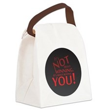 BeatingYouRound Canvas Lunch Bag