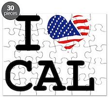 I LOVE CAL - CALIFORNIA Puzzle