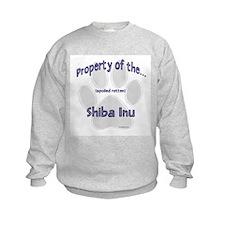 Shiba Inu Property Sweatshirt